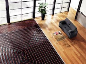 Vloerverwarming laten plaatsen