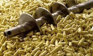 Pelletkachel werking met Pellets