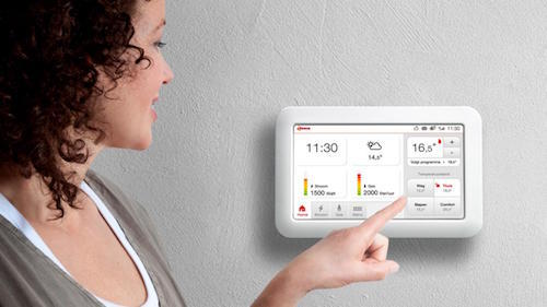 Smartphone en Tablet Thermostaat met APP